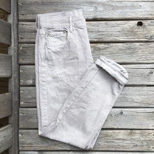 AE Hi-Rise Girlfriend Jeans